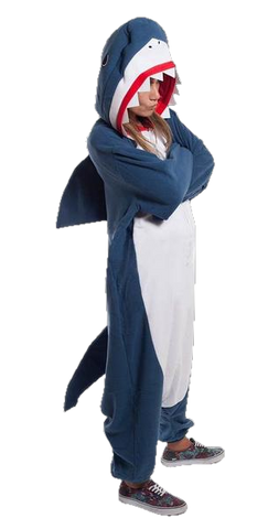 Blue Shark Onesies