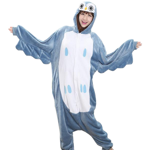 Happy Owl Hooded Onesies
