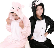 Black and Pink Pig Onesies