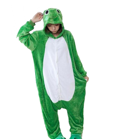 Cute Green Frog Onesies