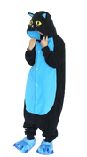 Black and Blue Cat Onesies