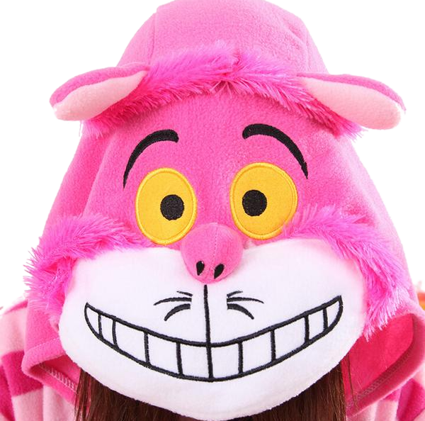 Pink Cheshire Cat Onesies