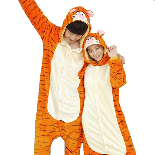 Jumping Tigers Adult Onesies
