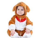 Cute Brown Pup Onesies
