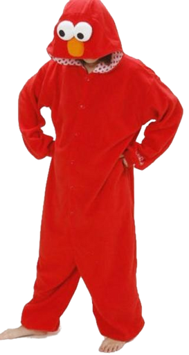 Elmo and Cookie Monster Onesies