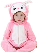 Cute Pink Sheep Onesies