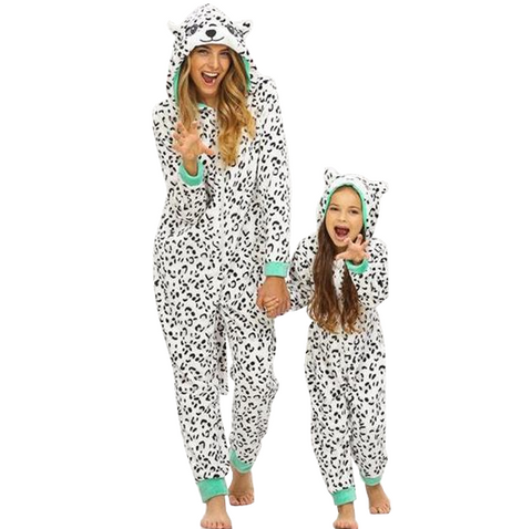 Fancy Snow Leopard Onesies