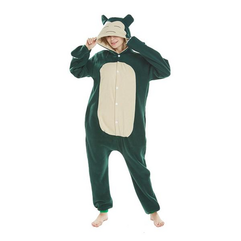 Fancy Snorlax Pokemon Onesies
