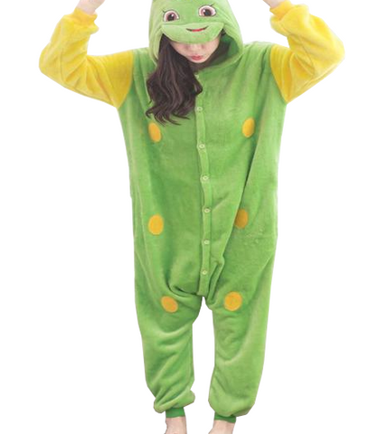 Fancy Green Worm Onesies