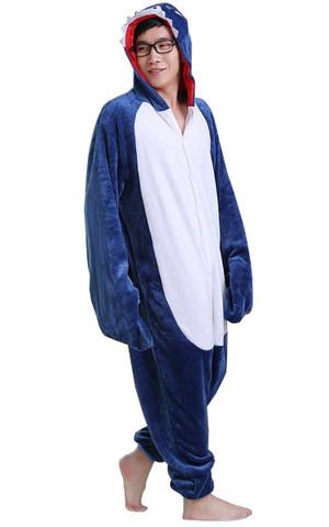 Deep Blue Shark Onesies