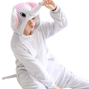 Gentle Gray Elephant Onesies