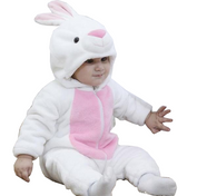Cute White Baby Rabbit Onesies