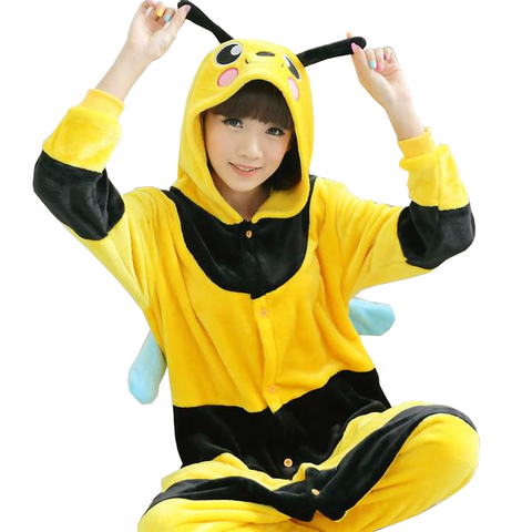 Cute Yellow Bee Onesies
