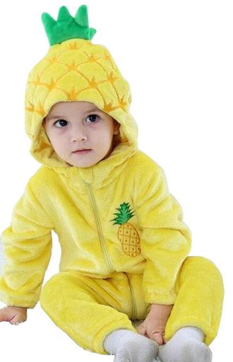 Cute Baby Pineapple Onesies