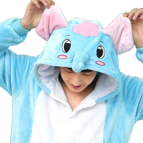 Jolly Blue Elephant Onesies