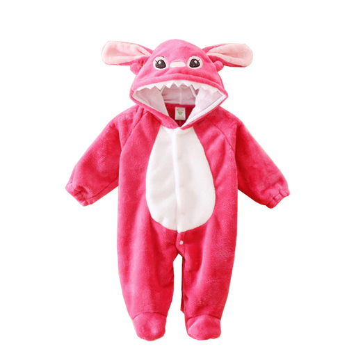 Cute Pink Baby Stitch Onesies