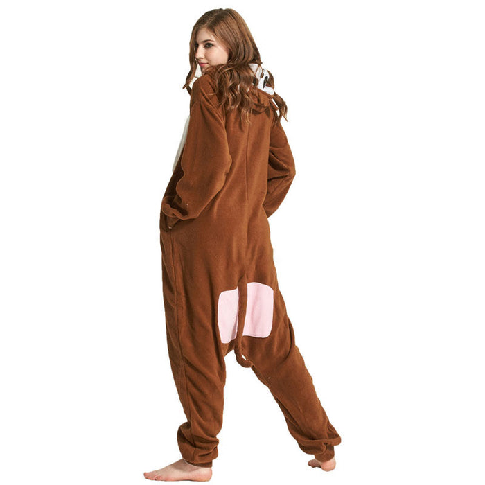 Funny Brown Monkey Onesies