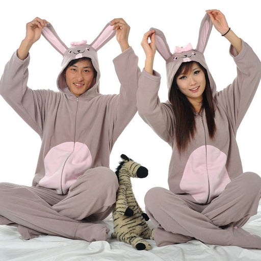 Beautiful Gray Bunny Onesies