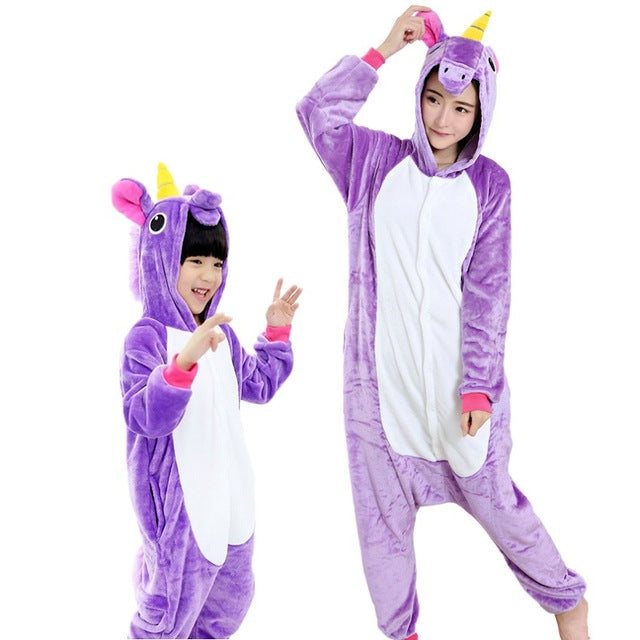 Blue Unicorn Girls Onesies