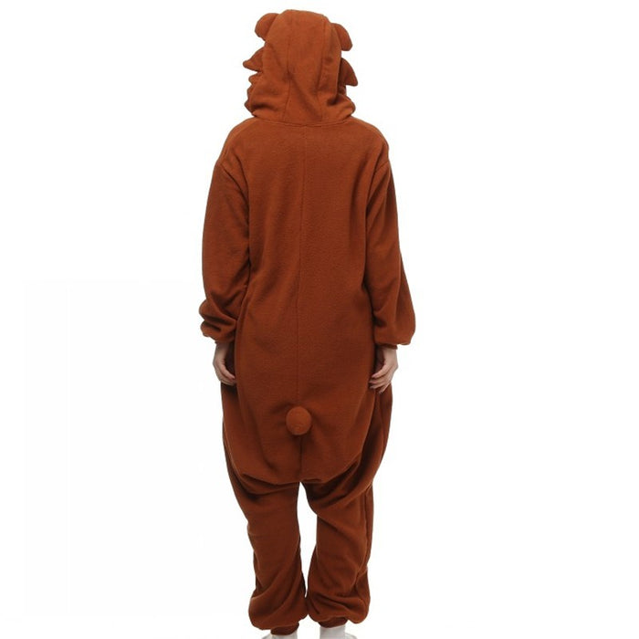 Dark Brown Bear Onesies