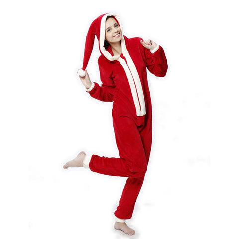 Womens Fancy Santa Claus Onesies