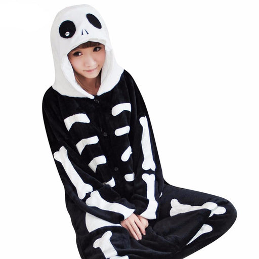 Jack Skeleton Adult Onesies