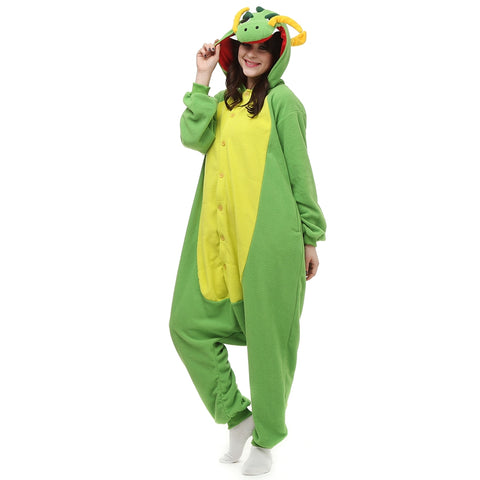 Yellow Green Chinese Dragon Onesies