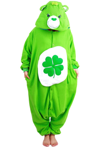 Green Goodluck Bear Onesies