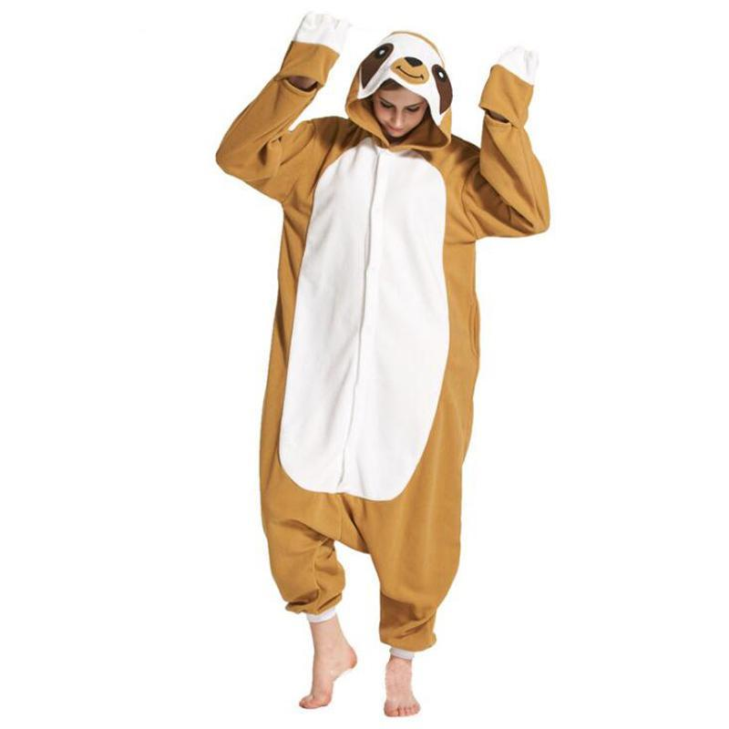 Brown Sloth Onesies