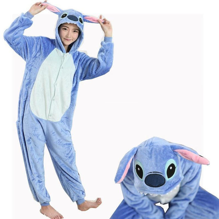 Stitch Hooded Onesies