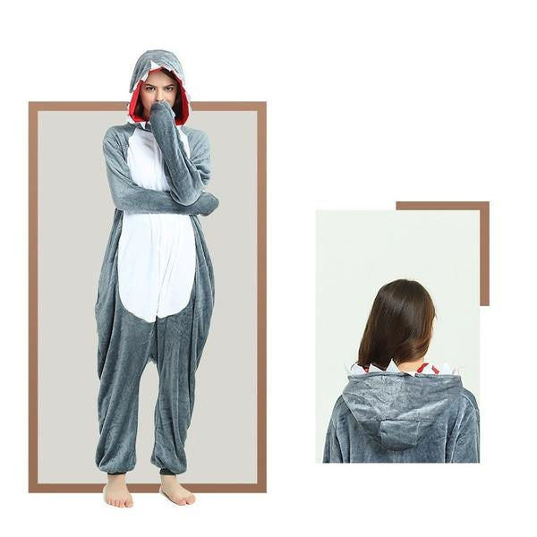 Gray Shark Onesies