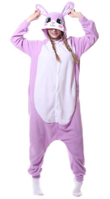 Cute Pink Rabbit Onesies
