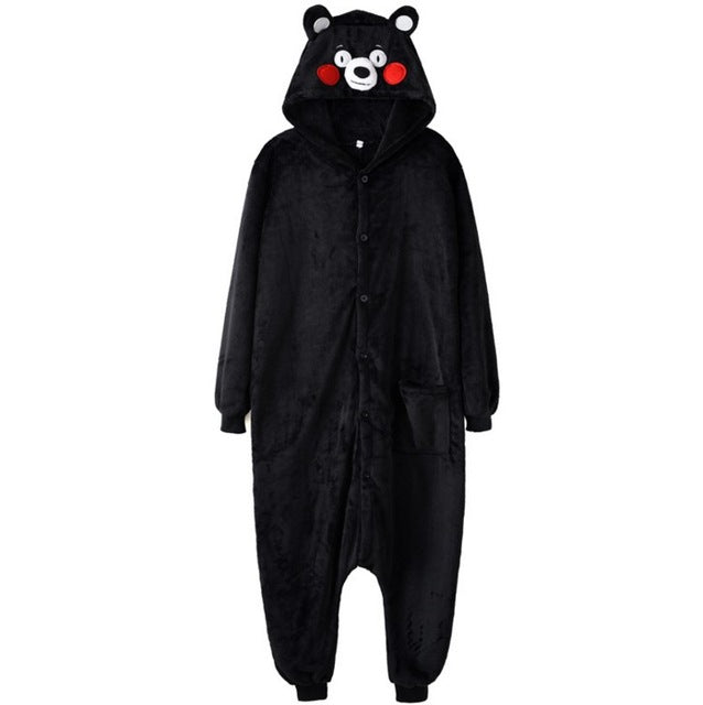 Black and Brown Kumamon Onesies