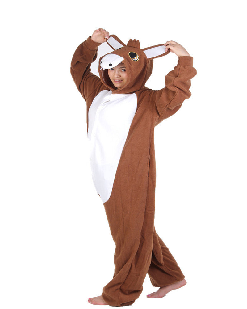 Cute Brown Donkey Onesies