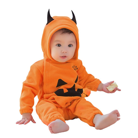 Cute Halloween Pumpkin Onesies