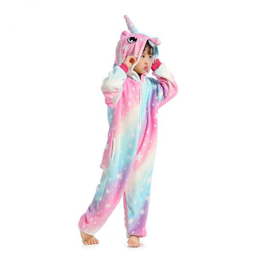 Kids Colorful Unicorn Onesies