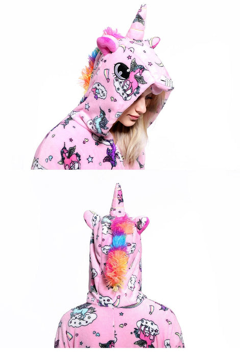 Womens Fancy Unicorn Onesies