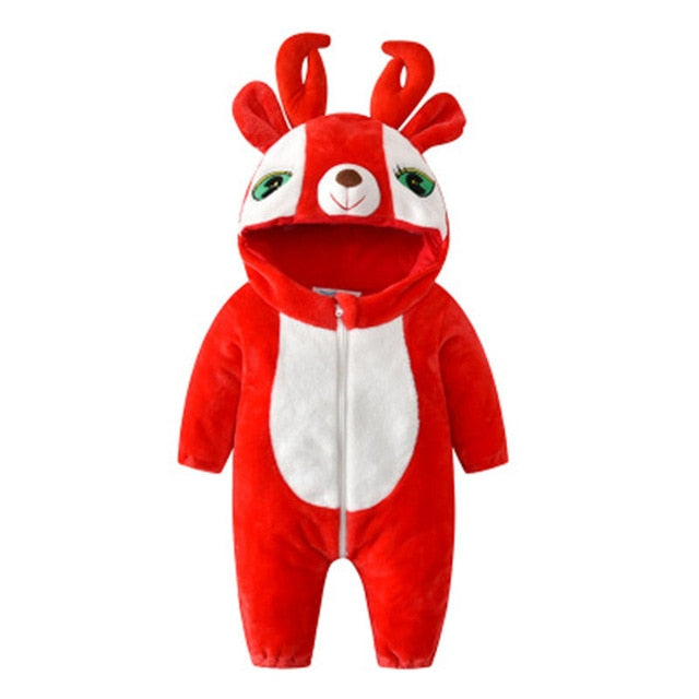 Red Baby Deer Onesies
