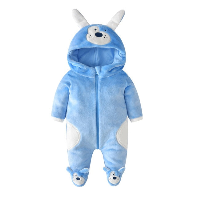 Cute Blue Pup Onesies