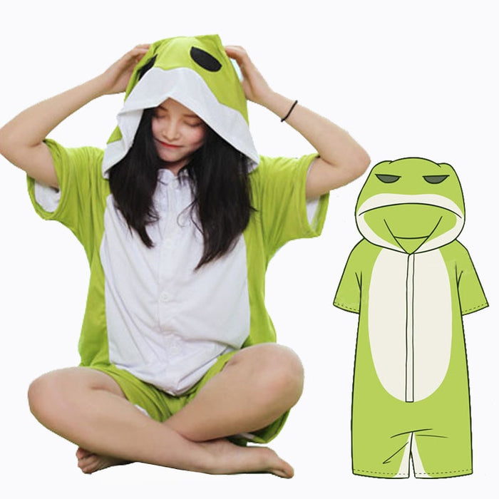 Comfy Travel Frog Onesies