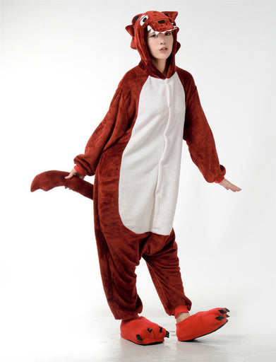 Big Brown Wolf Onesies