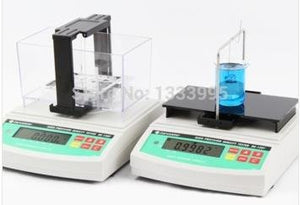 Huanyu Electronic High-precision Densimeter Instrument Dual Use for Solid and Liquid 0.0001g/cm3 DE-120T
