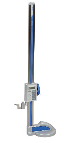Mitutoyo 570-302 LCD Absolute Digimatic Height Gauge, SPC Output, 0-300mm Range, 0.01mm Resolution, +/-0.03mm Accuracy, 4.6kg Mass