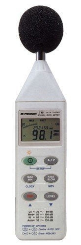 B&K Precision 735 Datalogging Digital Sound Level Meter with RS-232 Software and Cable