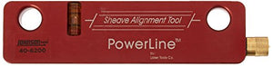 Johnson Level 40-6200 Red Beam Magnetic Sheave Alignment Kit, Red