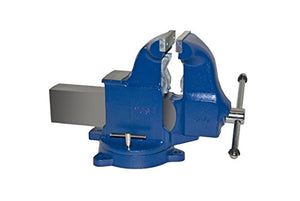 "Yost Vises 34C 6"" Combination Pipe and Bench Vise with 360-Degree Swivel Base"