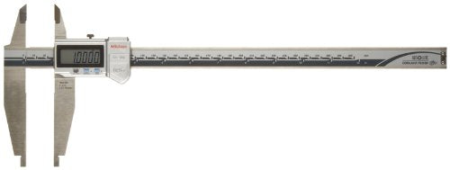 Mitutoyo ABSOLUTE 551-226-10 Digital Caliper, Stainless Steel, Battery Powered, Inch/Metric, Nib Style Jaw, 0-30