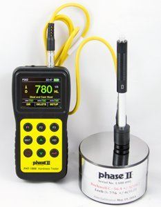 Phase II+ PHT-1900 Portable Hardness Tester w/Color Display-Multi Function Hardness Tester