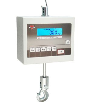 Crane Scale BA15S - 30lbs (15kg) capacity x 0.01lb (5g) readability, RS232 & OptoIsolator, Steel Metal Housing