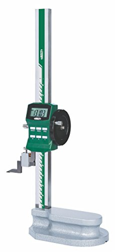 INSIZE 1156-600 Electronic Height Gage with Driving Wheel, 0